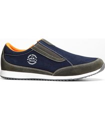 mocassino in pelle (blu) - bpc bonprix collection