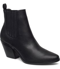 biaclemetis western chelsea shoes boots ankle boots ankle boots with heel svart bianco