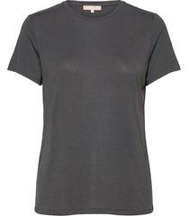ella t-shirt t-shirts & tops short-sleeved grå soft rebels