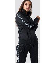 kappa anniston track jacket - black