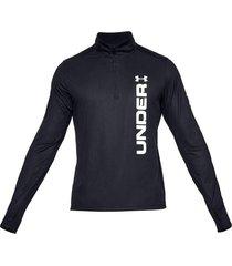 suéter under armour speed stride split zip para hombre