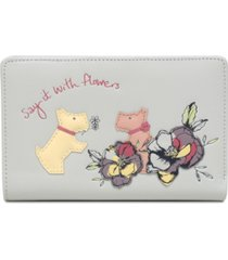 radley london say it with flowers bifold wallet
