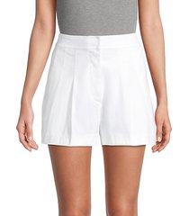 julian linen-blend shorts