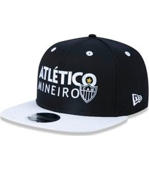 bonã© new era 950 orig. fit snapback atletico mineiro preto - preto - masculino - dafiti
