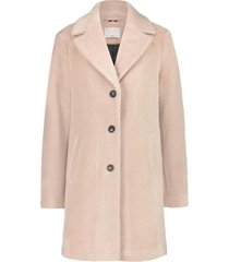 faux fur jas cashmere  roze