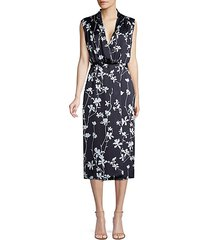 femma sleeveless floral sheath dress