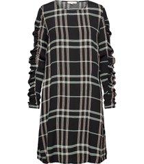 srlillian dress jurk knielengte zwart soft rebels