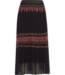 fal alexandra knälång kjol svart desigual