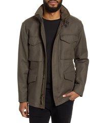 men's vince slim fit field jacket, size x-large - green