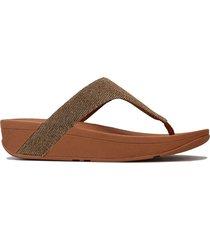 womens lottie glitzy toe thong sandals