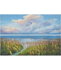 beach walk diptych wall art in multi