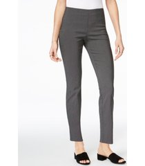 charter club chelsea patterned skinny-leg ankle pants, created for macy's