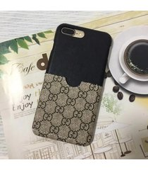 2017 summer card slot black/mono style case apple iphone6/6s iphone6/6s plus