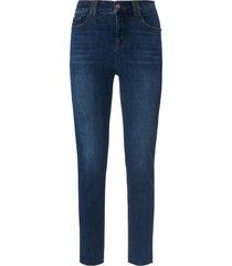 enkellange slim fit-jeans opengewerkte zoom van day.like denim