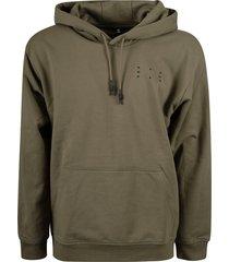 mcq alexander mcqueen kangaroo pocket detail hoodie