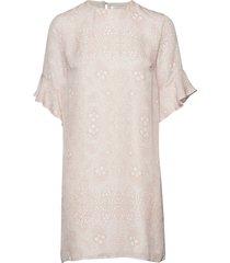 isa silk dress kort klänning rosa mayla stockholm