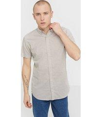 jack & jones jjesummer shirt s/s s20 sts skjortor ljus grå