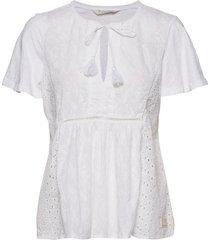 artful blouse blouses short-sleeved wit odd molly