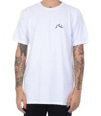 rusty camiseta rusty jungle juice - branco / m - masculino