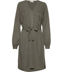 bellevue dress jurk knielengte groen modström