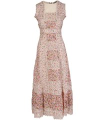 etro embroidered long paisley dress