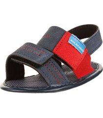 sandalia azul molekinha