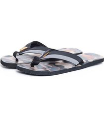 sandalias capellada textil kaki