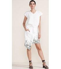 falda blanco-verde arkitect by beatriz camacho