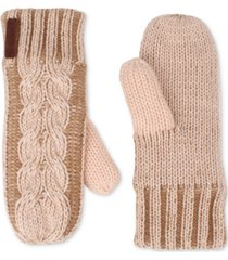 timberland braided cable mittens