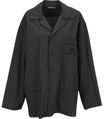 balenciaga pijama style shirt