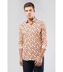 camisa reserva enxuto estampa ros masculina
