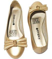 baleta ortencia dorado ambar lem ref. b000011-03