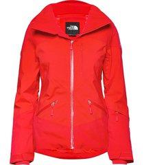 w lenado jacket fiery red outerwear sport jackets röd the north face