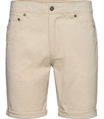 sdpovl 5-pocket jeansshorts denimshorts creme solid