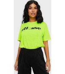 ellesse el carnevale t-shirts neon yellow