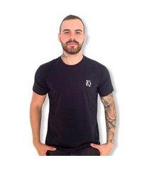 camiseta lobo basic masculina