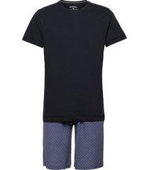 pyjama short knit pyjamas blå jockey