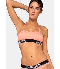 sundek sonoma - top a fascia con elastico