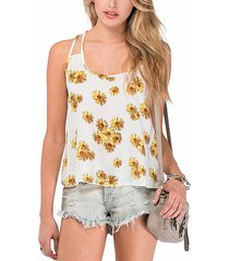 top camisero con tirantes dobles