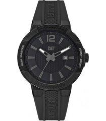 reloj shock slim negro cat