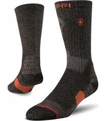 calcetin hombre trekking warm socks gris lippi