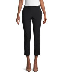 theory women's thaniel kenett slim-fit pants - black - size 6