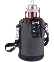 legacy by picnic time copper-tone growler & insulated tote