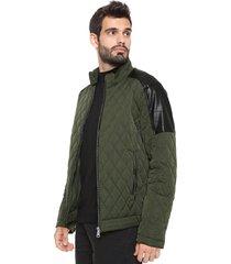 jaqueta colcci matelasse verde