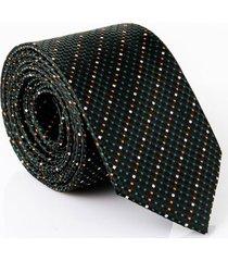 gravata isla galerias jacquard 1200 fios cor preta - multicolorido/preto - dafiti