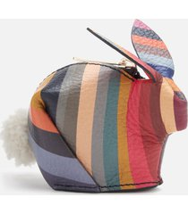 paul smith women's swirl rabbit purse - multi