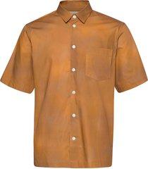 thor shirt overhemd met korte mouwen oranje wood wood