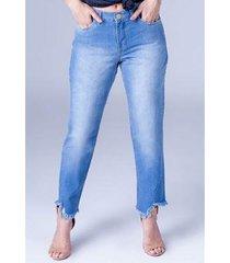 calça jeans boyfriend equivoco lorena feminina
