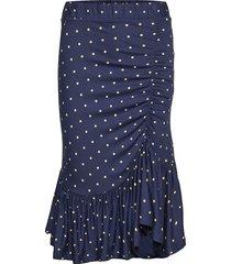 julie knälång kjol blå baum und pferdgarten