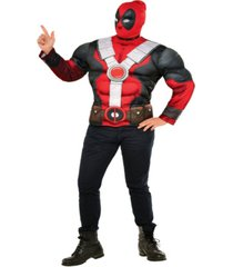 buyseason men's deadpool muscle chest costume top